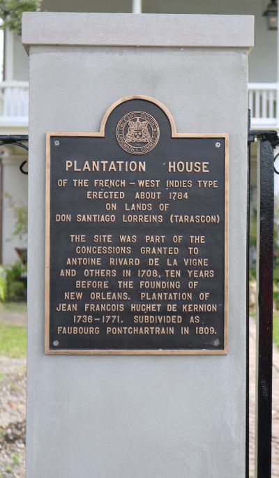 Plantation House - 1784 - Oldest Plantation House in New Orleans