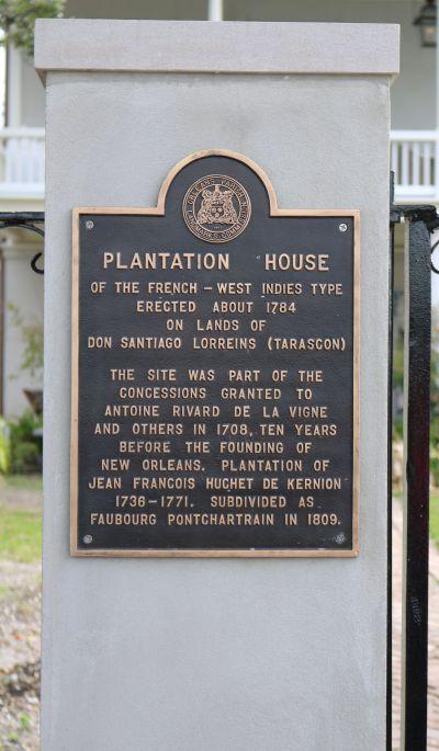 Plantation House - 1784 - Oldest Plantation House in New Orleans